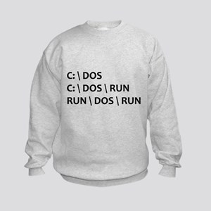 DOS RUN Kids Sweatshirt