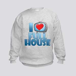 I Heart Full House Kids Sweatshirt