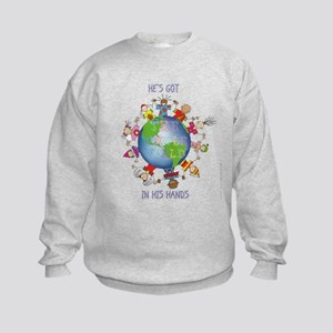 Hes Got the Whole World in His Hands Sweatshirt