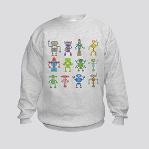Robots by Phil Atherton Sweatshirt