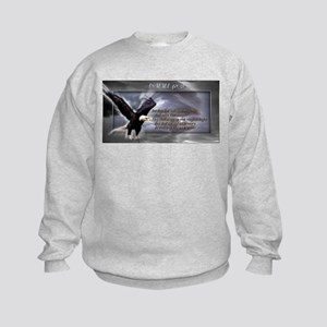 ISAIAH 40:31 Kids Sweatshirt