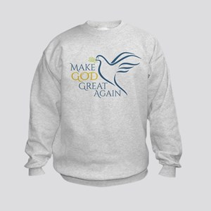 Make God Great Again Kids Sweatshirt