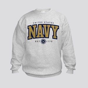 United States Navy Athletic Kids Sweatshirt