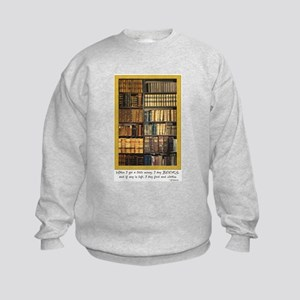 Erasmus Quote Kids Sweatshirt