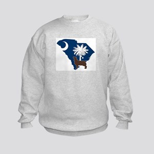 South Carolina Boykin Spaniel Kids Sweatshirt