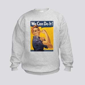 Rosie the Riveter Kids Sweatshirt