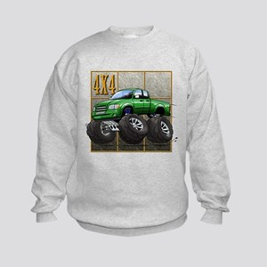 Tundra_Green Kids Sweatshirt
