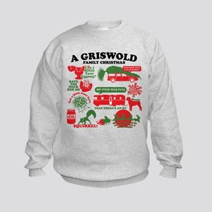 Christmas Vacation Movie Collage Sweatshirt