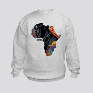 146117f8 Black Kids Crewneck Sweatshirts - CafePress