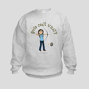 714aa56496a4b GIRL COON HUNTER Hoodie. $36.99 · Light Blue Archery Kids Sweatshirt