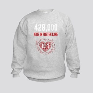 Make a Difference to a Foster Child Sweatshirt