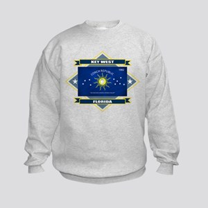 Key West Flag Kids Sweatshirt