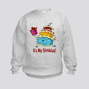 It's My Birthday! Kids Sweatshirt