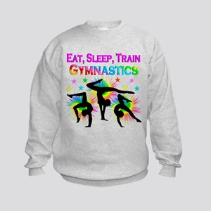 GYMNAST GIRL Kids Sweatshirt