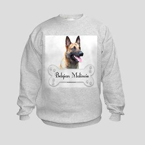 Malinois 2 Kids Sweatshirt