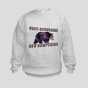 White Mountains , New Hampshi Kids Sweatshirt