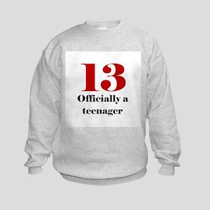 13 Teenager Sweatshirt