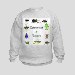 Entomologist In Training 2 Kids Sweatshirt