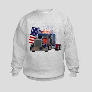 Classic Peterbilt Truck Sweatshirt