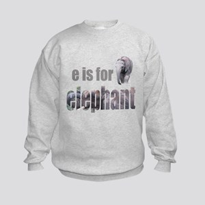 e Elephants Kids Sweatshirt
