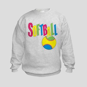 softball(blk) Sweatshirt