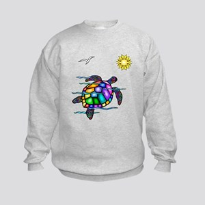 Sea Turtle #1 Kids Sweatshirt