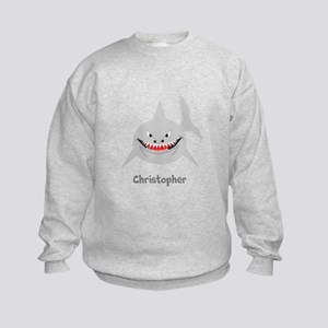 Personalized Shark Design Sweatshirt