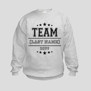 Team Family Kids Sweatshirt