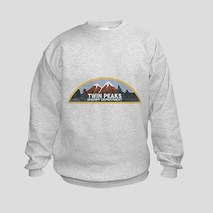 Vintage Twin Peaks Sheriff Departm Kids Sweatshirt