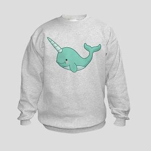 Happy Narwhal Sweatshirt