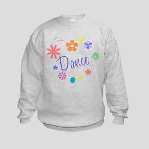 Dance Flowers Kids Sweatshirt