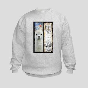 LLAMA Rules LLAMA LOVER Sweatshirt