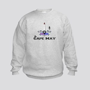 Cape May Lighthouse Kids Sweatshirt