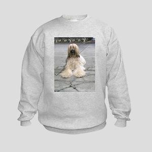 Helaine's Afghan Hound Kids Sweatshirt