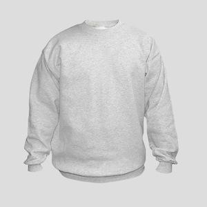 Samoyed Portrait Kids Sweatshirt