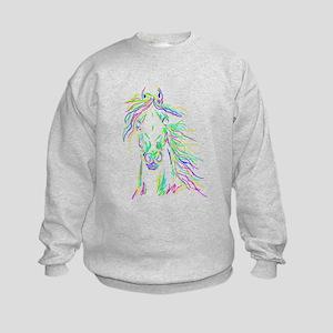 Different Color Sweatshirt