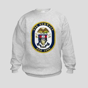 USS Zumwalt DDG-1000 Sweatshirt
