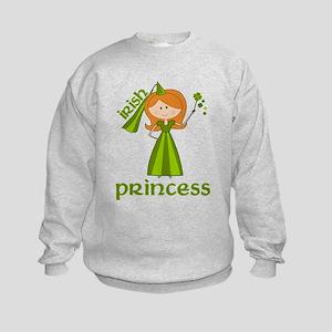 irish princess Kids Sweatshirt