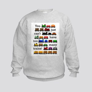 Too Many Trains Sweatshirt