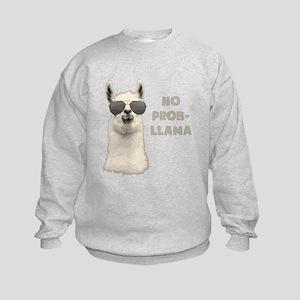 No Problem Llama Sweatshirt