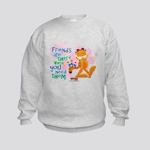 Friends Are There Kids Sweatshirt