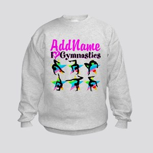AWESOME GYMNAST Kids Sweatshirt