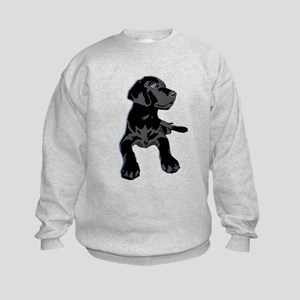 Black Lab Kids Sweatshirt
