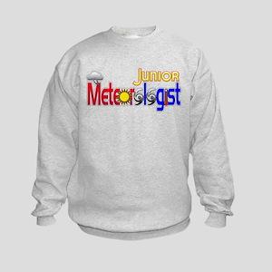 Junior Meteorologist Kids Sweatshirt