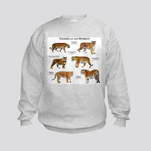 Tigers of the World Sweatshirt