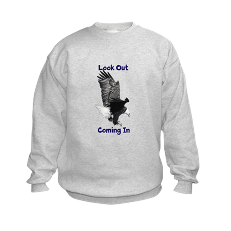 Coming in Eagle Kids Sweatshirt