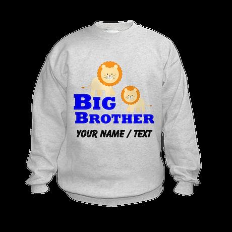 Custom Big Brother Lion Sweatshirt