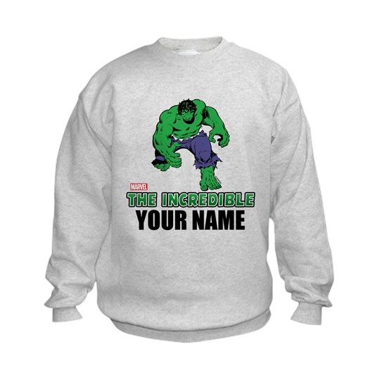 Personalized Incredible Hulk