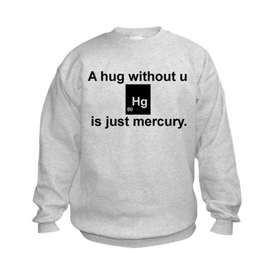 A hug without u is just mercury.