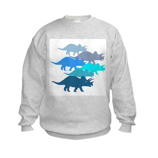 blue triceratops family